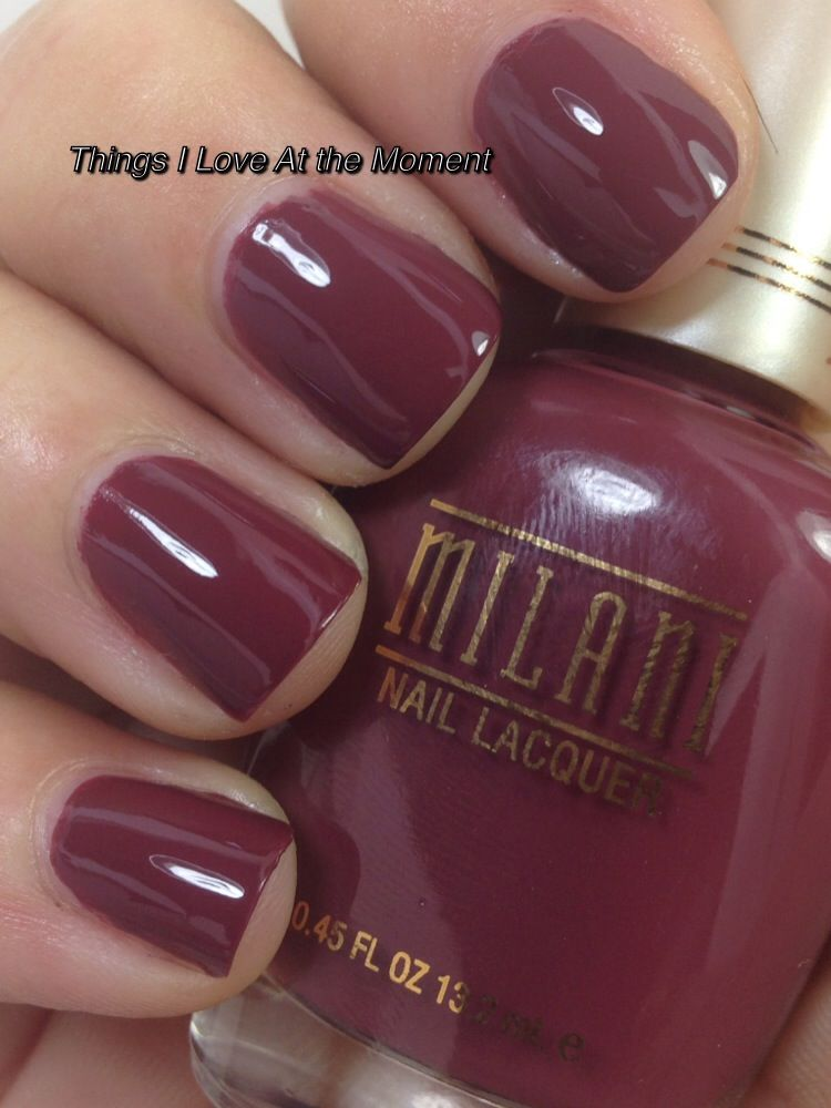 milani nail lacquer collection