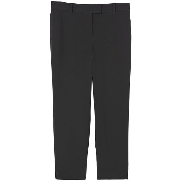 Flowy Suit Trousers (525 NOK) ❤ liked on Polyvore featuring pants, mango trousers, suit pants, slacks pants, dress trousers and dress pants