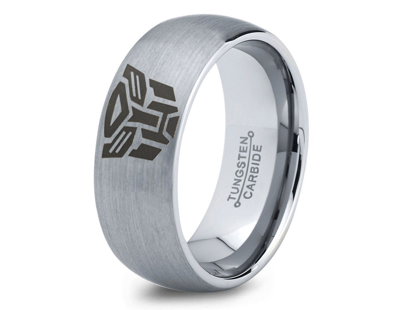 Transformers Autobot Ring Mens Fanatic Geek Sci Fi Science Fiction Boys Girls Womens: Nerdy Wedding Rings For Men At Websimilar.org