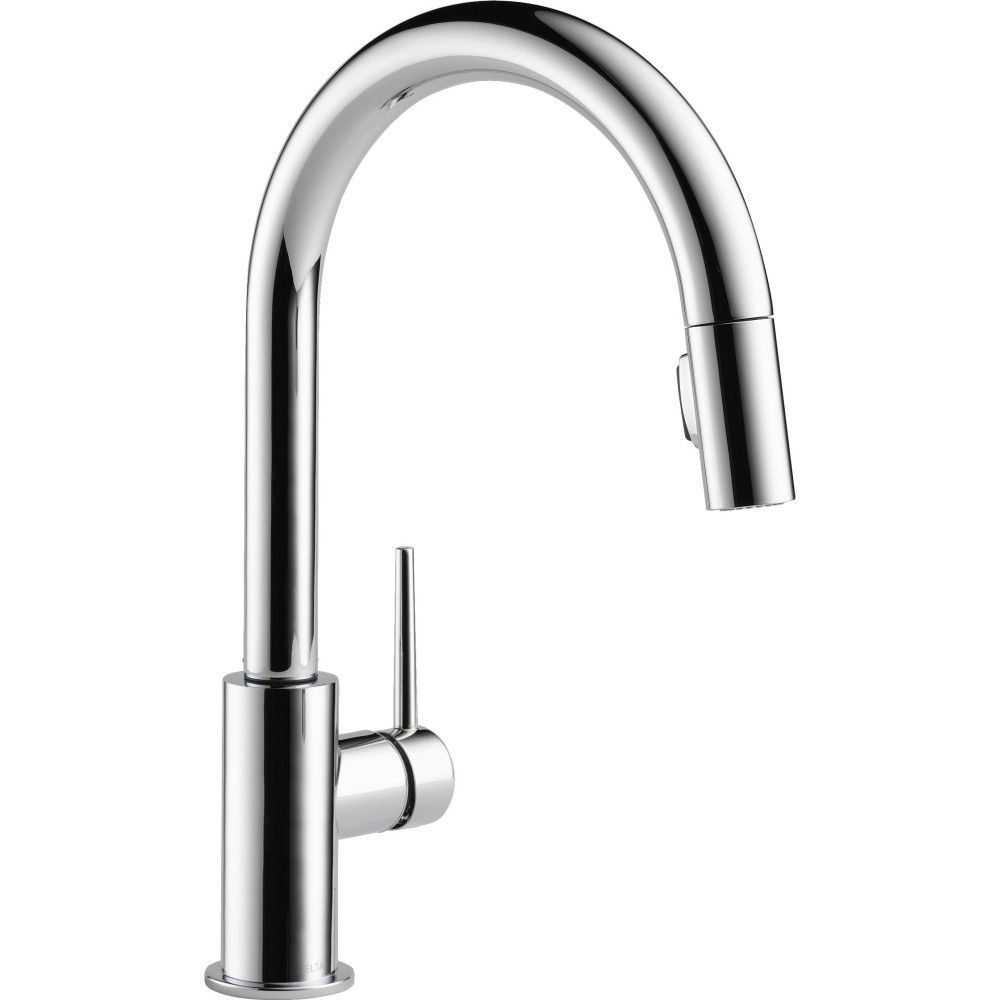 344 30 Delta Faucet 9159 Ar Dst Trinsic Arctic Stainless Pullout