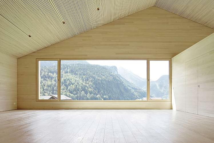 Fenster Band architekten bernardo bader dornbirn i kindergarten in bizau i