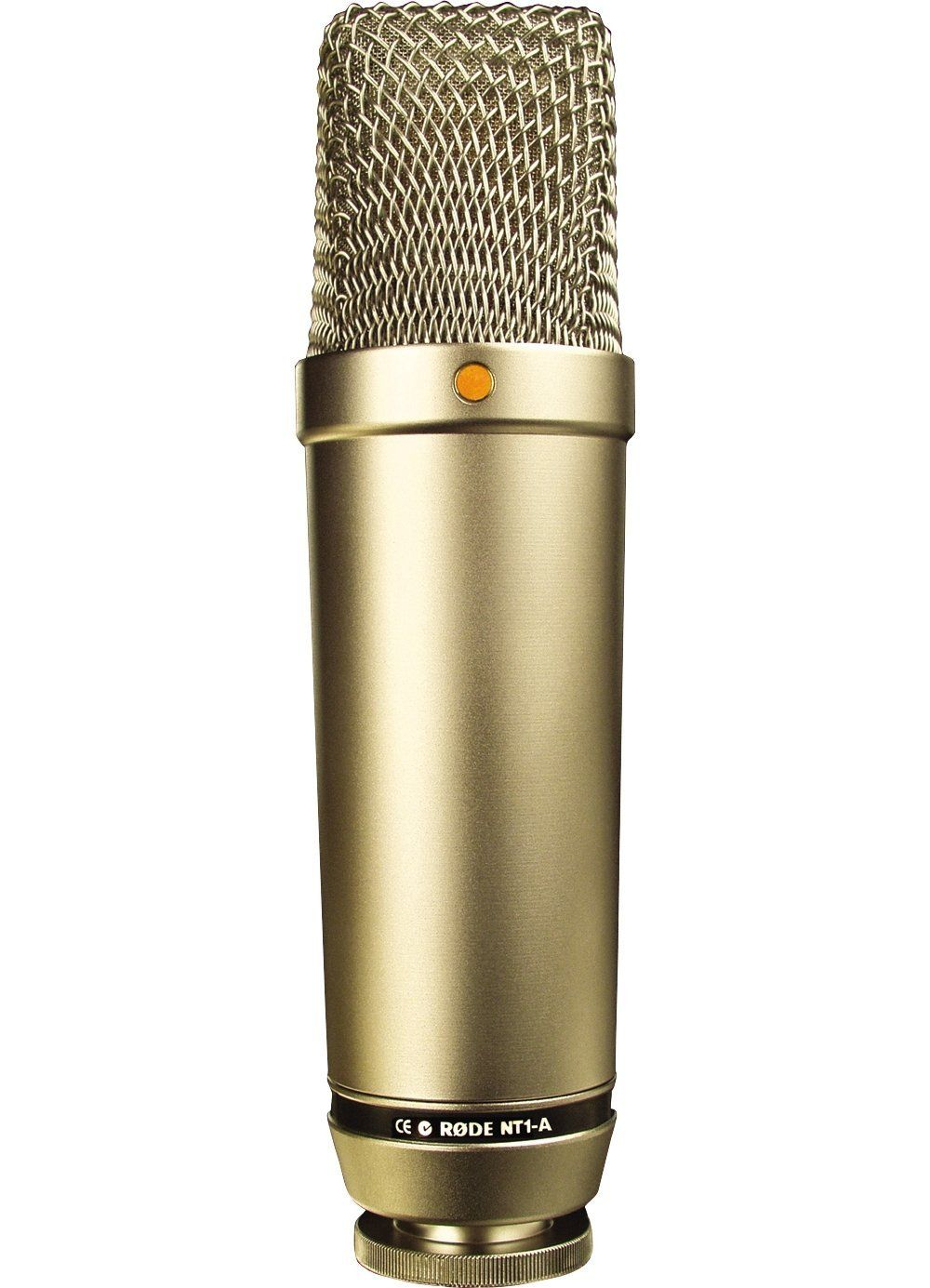 Rode Nt1 Amp Matched Pair Stereo Vocal Condenser Microphones Cardioid Large 1 Inch Capsule With Gold Plated Diaphrag Microphones Stereo Recording Microphone