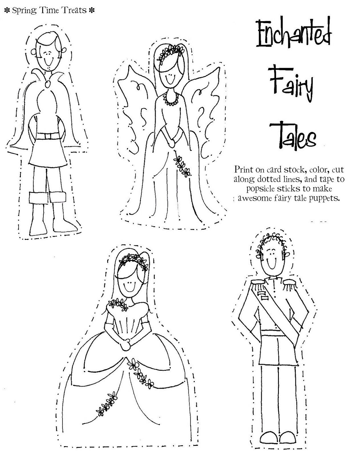 spring time treats free printables fairy ballerina princess