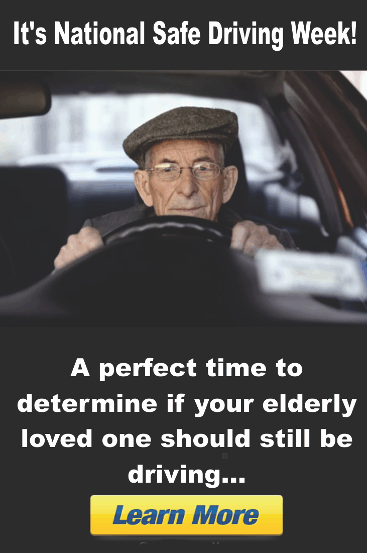 Keep your elderly loved ones safe! Here are a few tips