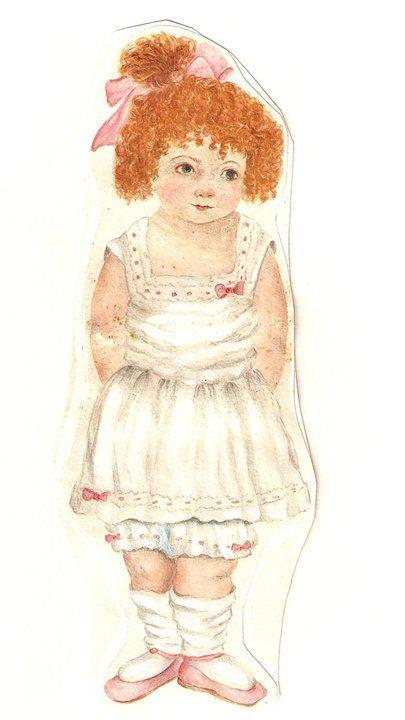 Catarina..boneca de papel..desenho meu