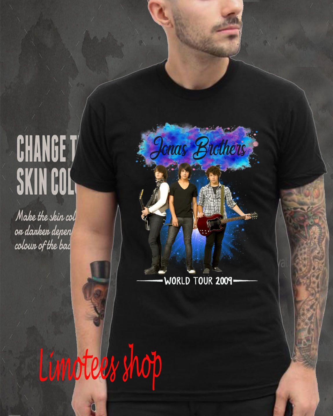 Sweatshirt Women Young Hoodie John Stamos Jonas Brothers World Tour 2009 T Shirt For Men