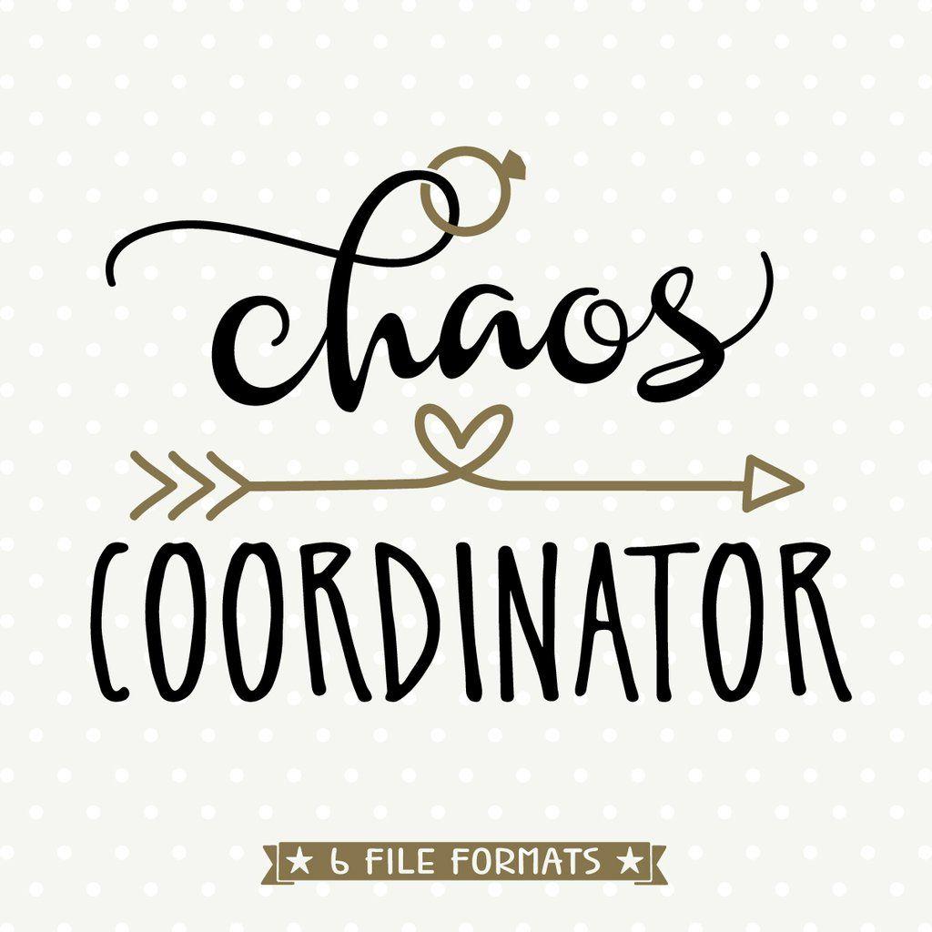 Download Chaos Coordinator SVG file   Chaos coordinator, Vinyl ...