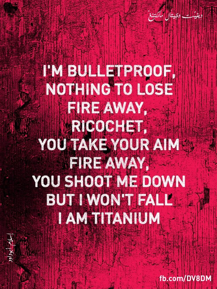 Lyric fire rap lyrics : I'm bulletproof, nothing to lose Fire away, fire away Ricochet ...