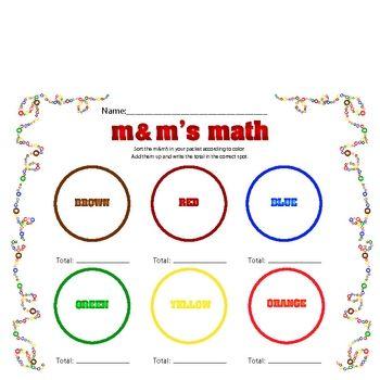 m m graphing sorting teaching math preschool math. Black Bedroom Furniture Sets. Home Design Ideas