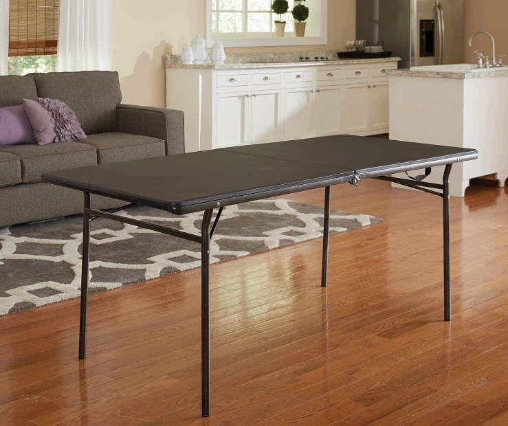 Cosco Black Center Folding Table 6 Big Lots Folding Table Table Home Decor