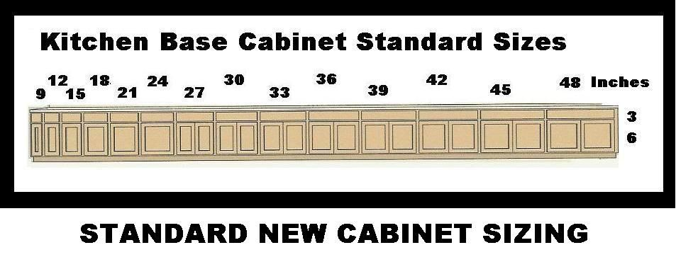 Cabinets Base Sizes | Kitchen cabinet layout, Kitchen base ...
