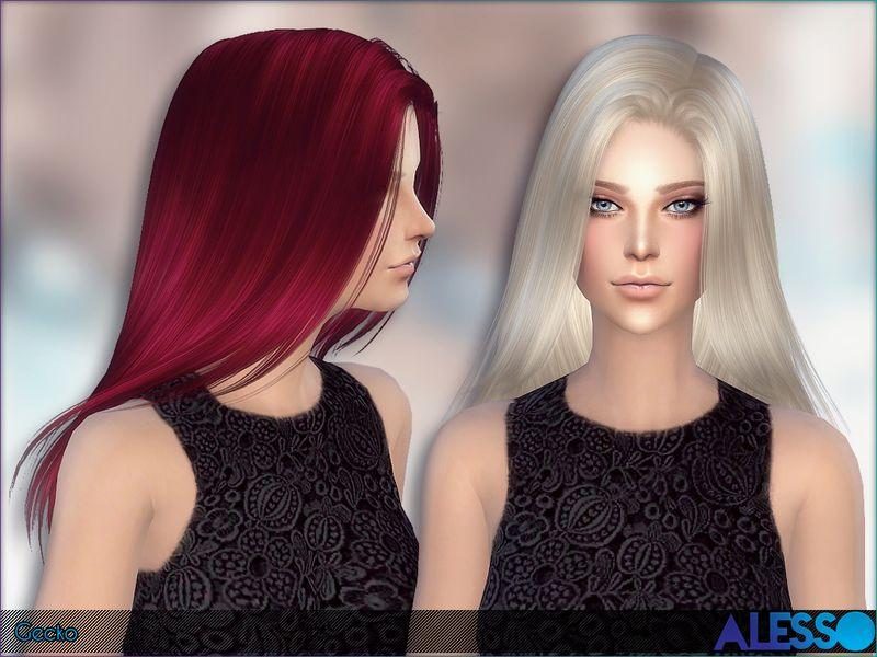 coiffure macaron pour sims 4 sims4downloads Sims 4