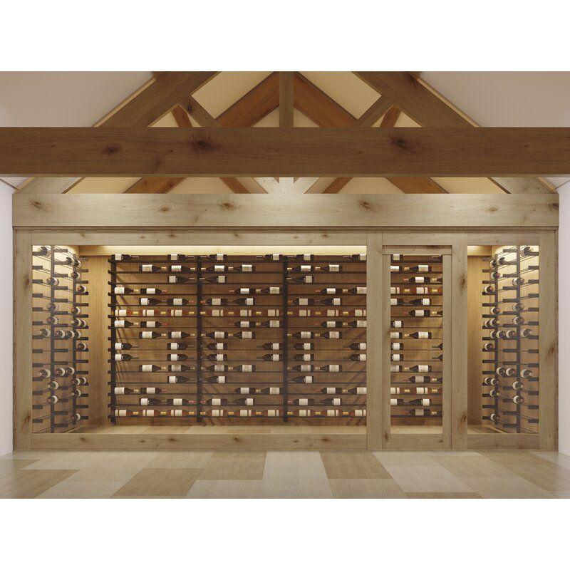 Idora 27 Bottle Wall Mounted Wine Bottle Rack In 2020 Wall Mounted Wine Rack Wine Rack Wine Wall