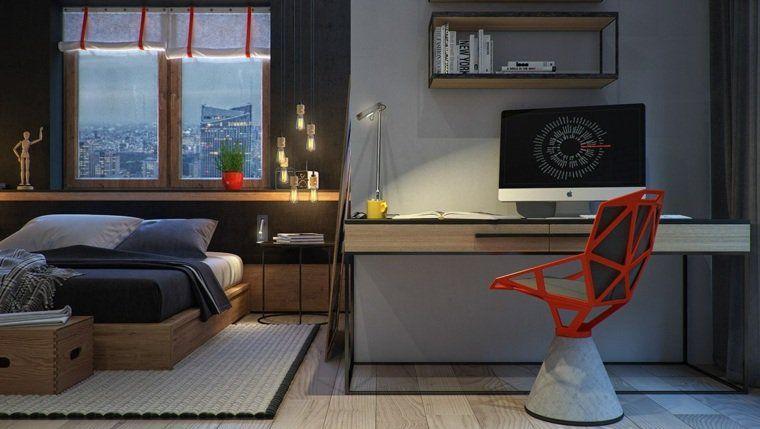 Chambre Design Exemples De Jolie Chambre Adulte Art Deco And - Chaise de chambre design