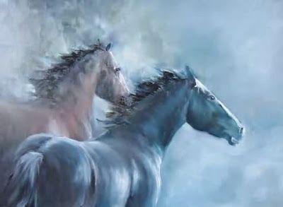 Paint Horses 2018 Wall Calendar