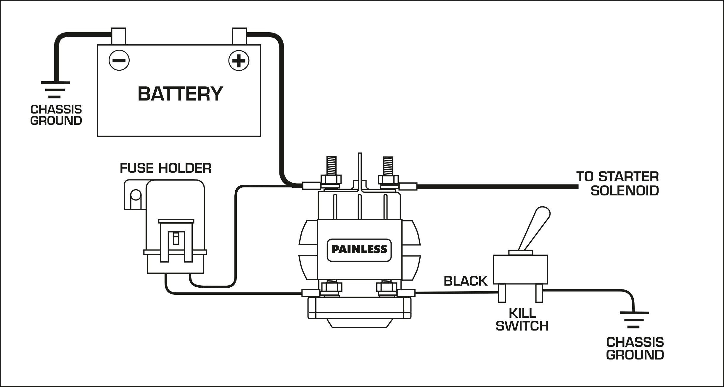Starter Solenoid Switch Wiring Diagram Wiring Diagram