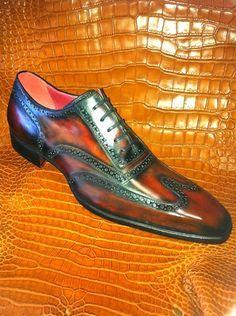 i like  l guillo  dress shoes men brogues men