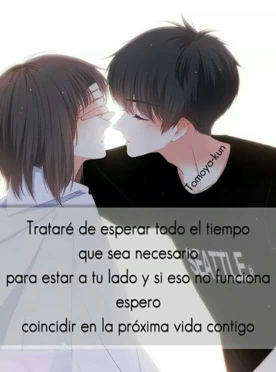 Awwww Anime Phrases Pinterest Amor Frases Y Frases De Amor
