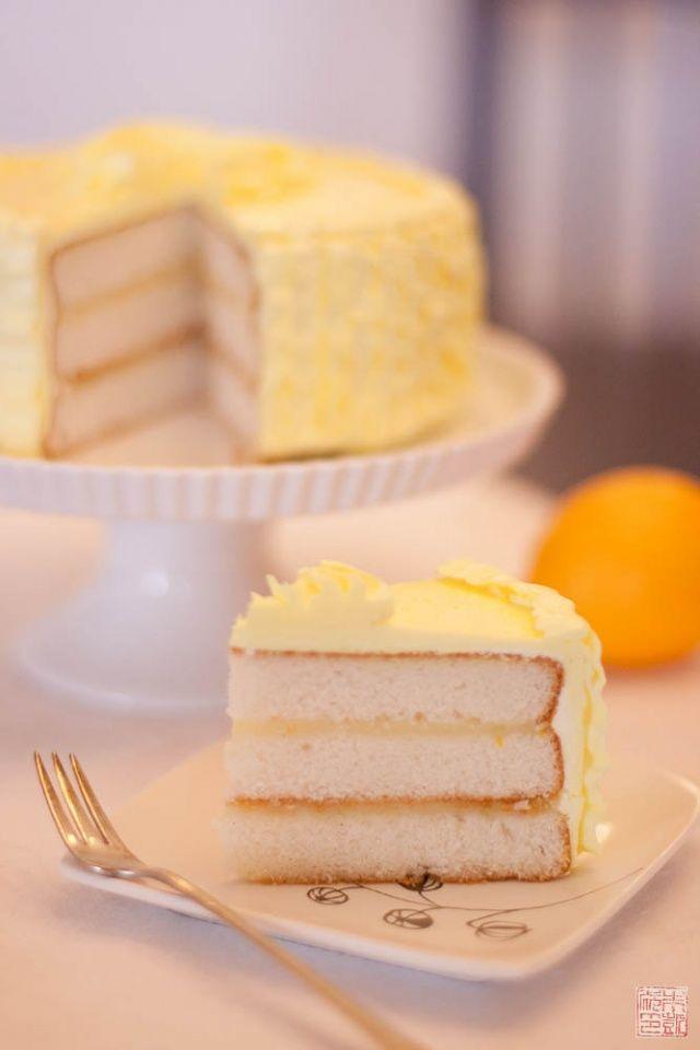 Lemon Bunt Cake Lemon Syrup