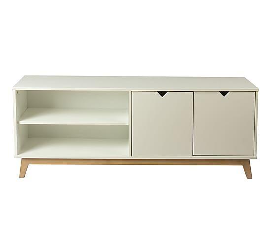 Mueble de tv en madera DM y en madera de pino Danna | Home ...