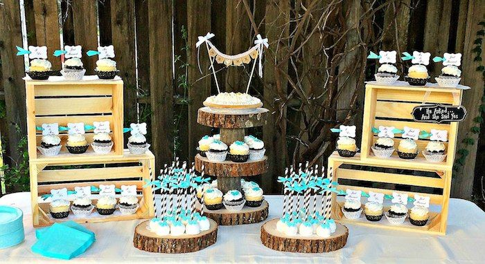Rustic Black White Tiffany Blue Wedding Via Kara S Party Ideas Karaspartyideas