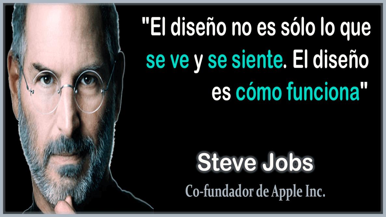 Frase De Steve Jobs Del Diseno Steve Jobs Top 12 Pinterest
