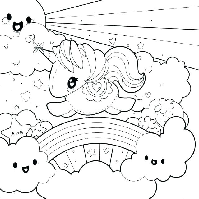 Coloring Pages Pretty Unicorn Coloring Pages Printable Cute