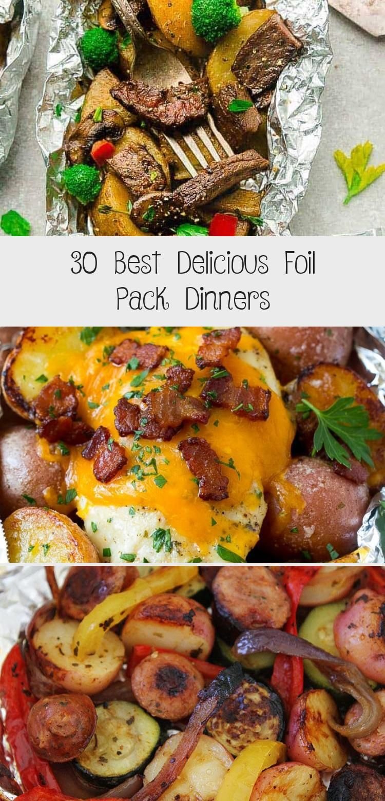 Photo of 30 Best Delicious Foil Pack Dinners – Food Recipes
