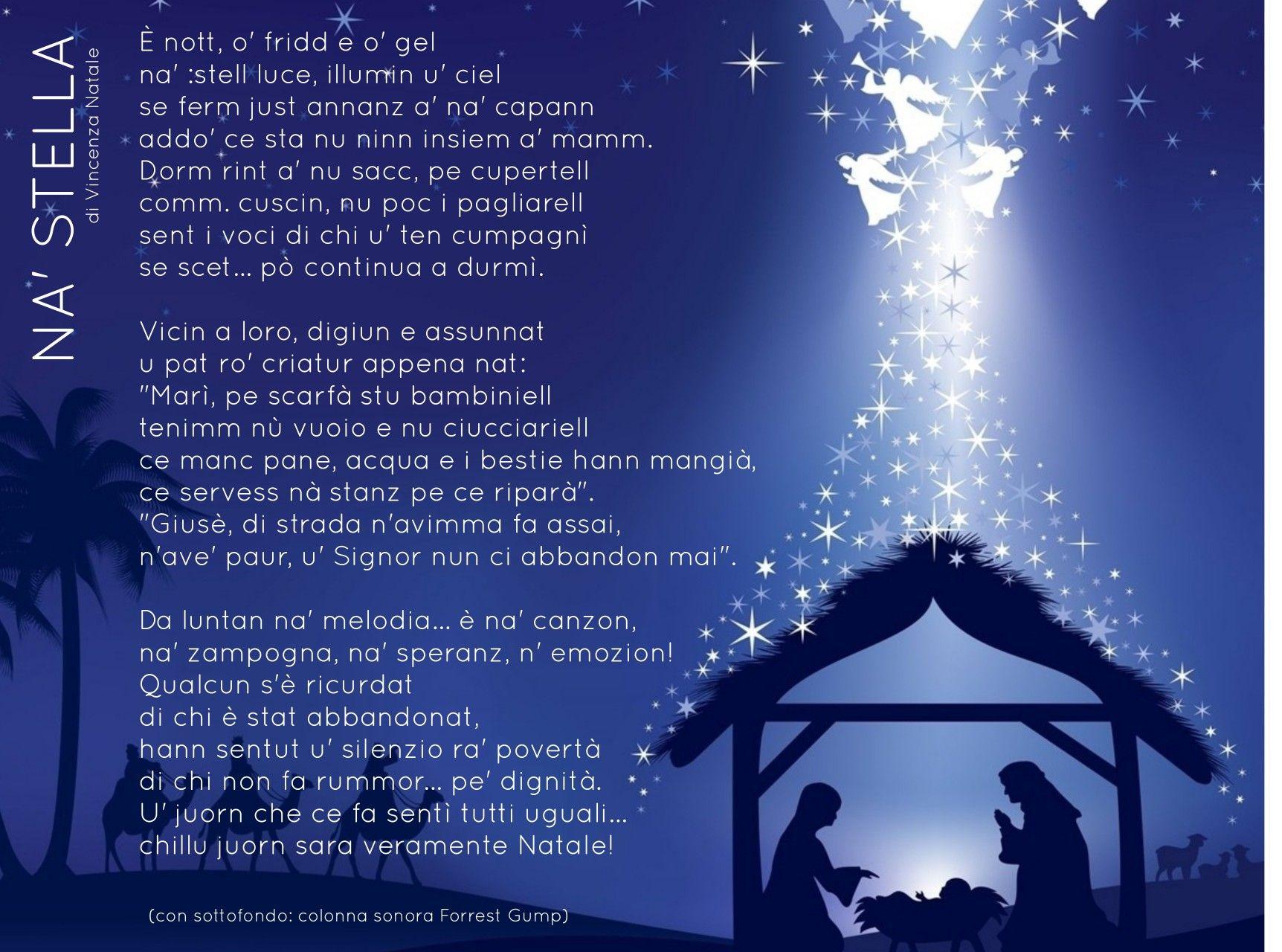 Poesie Di Natale Napoletane Scuola Primaria.Poesia Natale Napoletana Dicembre Natale Natale