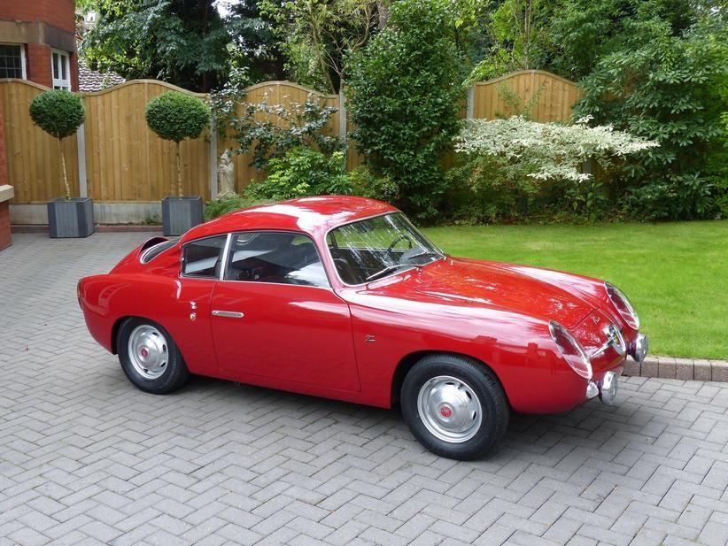 1959 Fiat Abarth Zagato 750 Gt Double Bubble Coupe For Sale In