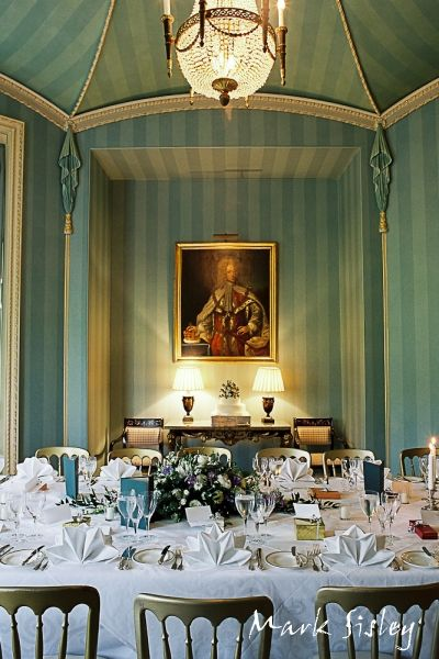 Military Wedding Photography Interior Of The Octagon Room At Hartwell House Buckinghamshire England
