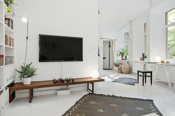 Tv Wall Decoration Scandinavian Google Otsing Apartment Room Modern Crib Living Room Designs