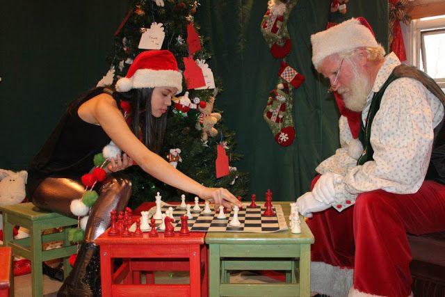 Ashley, de Canadá, a por la derrota de Santa