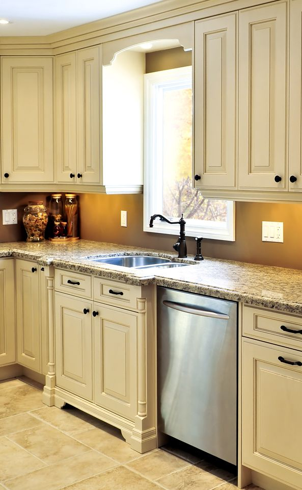 Best Off White Kitchens With Bump Out Sink Detail Colonial 400 x 300