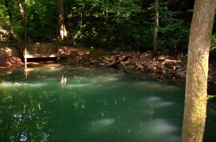 5. Lost River Cave and Blue Pool