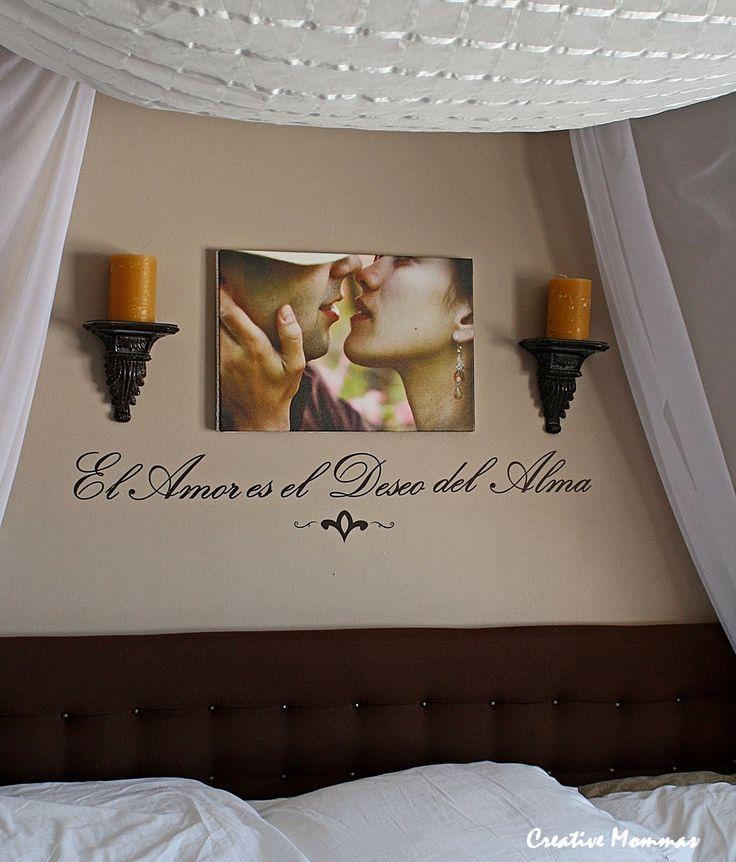 ... Schlafzimmerdesign, Schlafzimmer Ideen, Süße Ideen, Handwerkliches Zum  Selbermachen, Romantisches Schlafzimmer Dekor, Schlafzimmer Kerzen, El Amor  Es