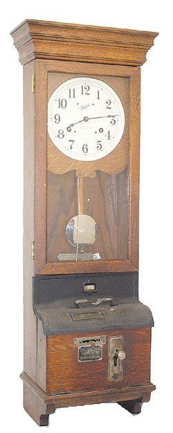 Antique Time Recorder Clock Antique Simplex Time