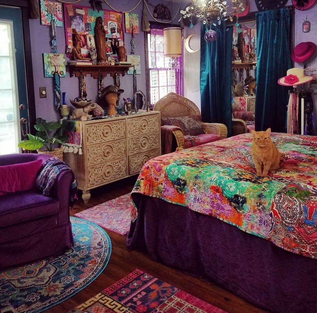 Jaqenwho Home Home Decor Boho Style Bedroom