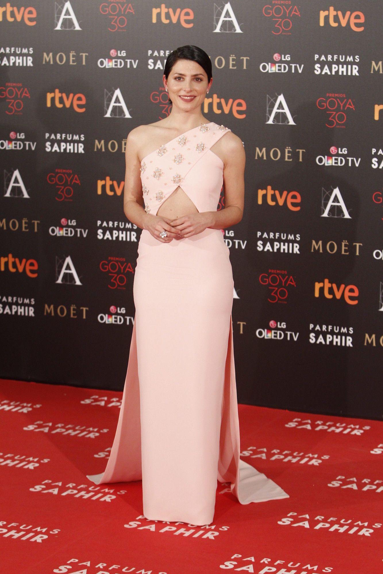 Bárbara Lenie in Jorge Acuña - Goya  Awards 2016