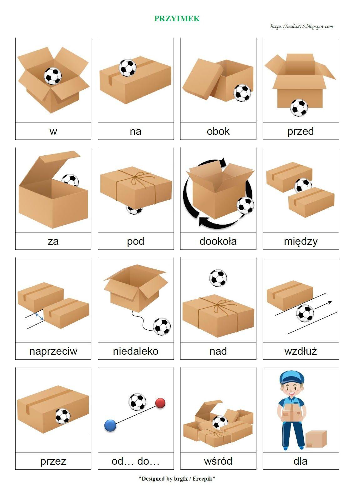 BLOG EDUKACYJNY DLA DZIECI: PRZYIMEK | Polish language, Learn polish,  Preschool learning activities