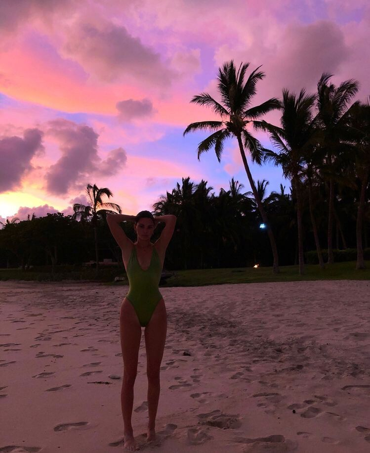 f58dfdc893c beautiful sunset beach holidays body goals summer bathers | VSCO ...