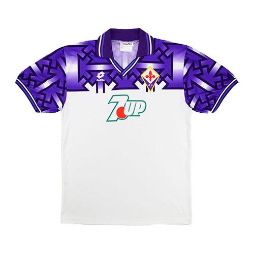 92 93 Fiorentina Away Purple White Retro Soccer Jerseys Shirt Cheap Soccer Jerseys Shop In 2020 Vintage Football Shirts Football Shirts Soccer Jersey