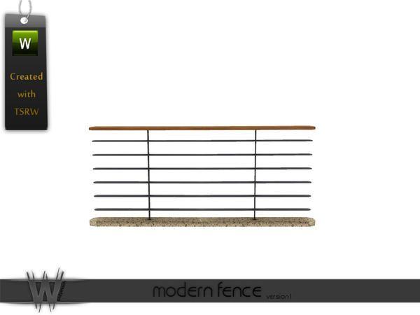 Wondymoon S Modern Fence V 1 Modern Fence Fence Rustic Fence