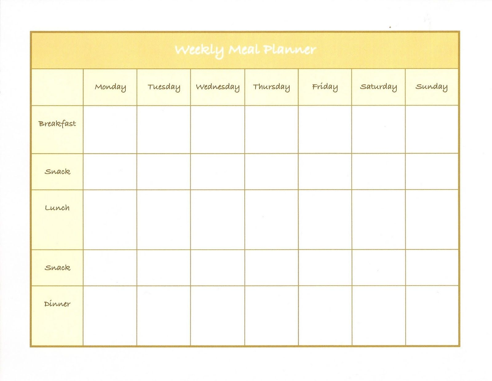 Meal Prep Madness! | Weekly meal plan template, Weekly meal ...