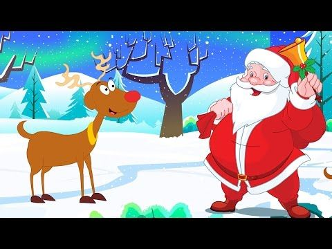 Rudolph The Red Nosed Reindeer Christmas Carols Instrumental Youtube Merry Christmas Images Christmas Reindeer Rudolph The Red
