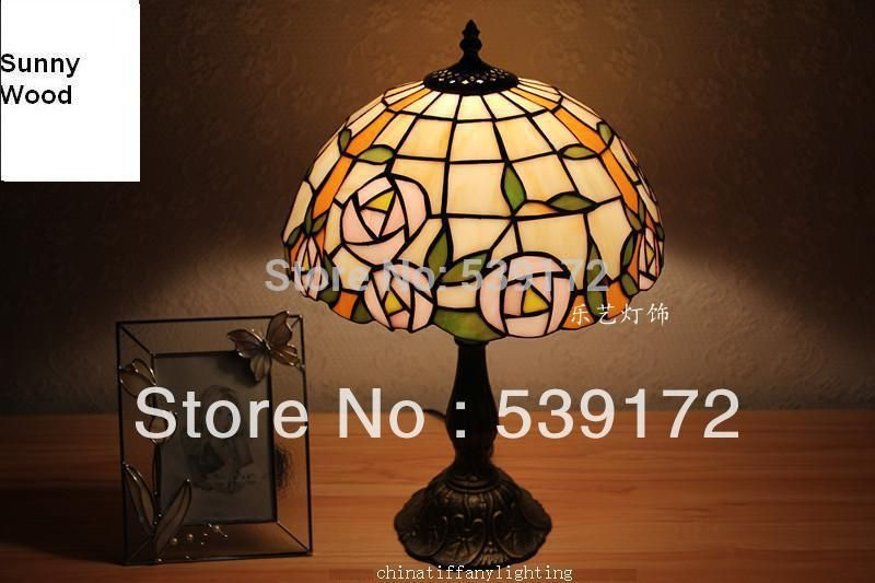 Free Shipping 12 Inch Shell Lamps Tiffany Lamp Free 5w E27 Led Bulb For Promotion Table Lamp For Bedroom 90 260v Ac T Table Lamps For Bedroom Shell Lamp Lamp