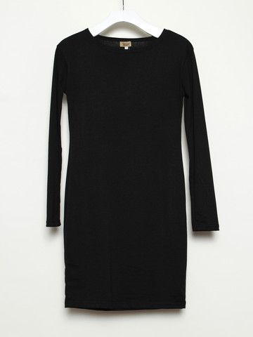 simple black dress is always good for the soul. $49.00