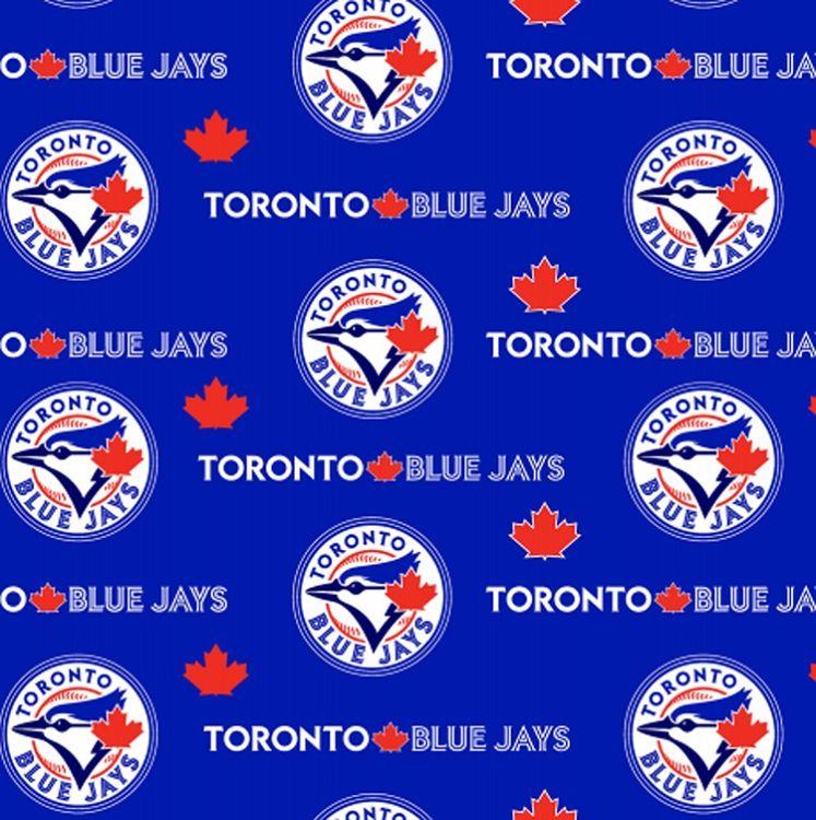 Cotton Toronto Blue Jays Blue MLB Baseball Sports Team