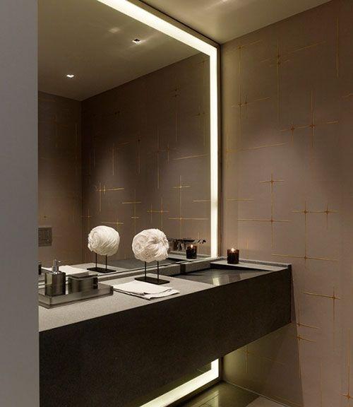 Led spiegel | |badkamer inspiratie | led verlichting | Bathrooms ...