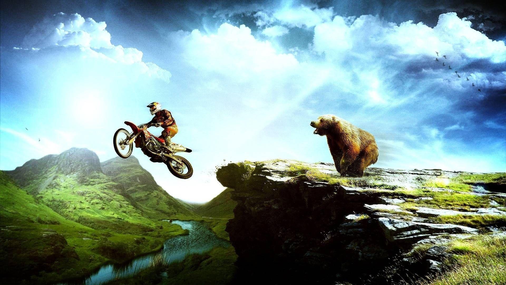 dirt bike wallpaper for desktop background 269 kB Hansford